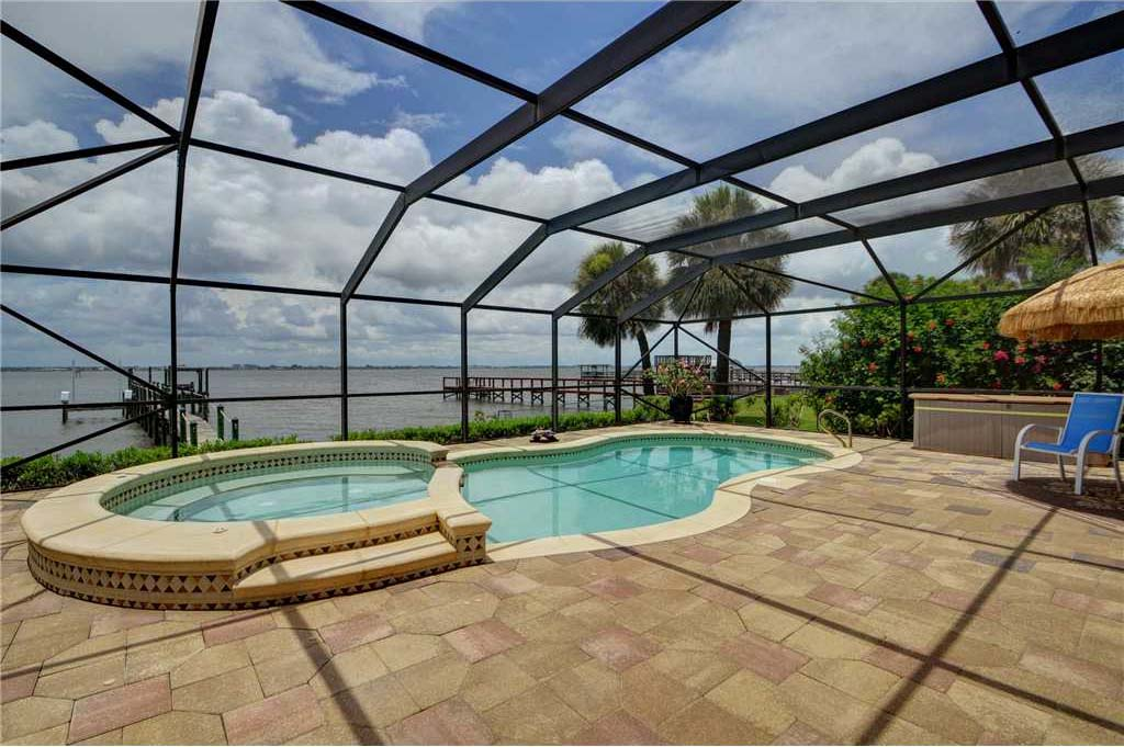 Riverfront Home For Sale In Melbourne Beach Florida