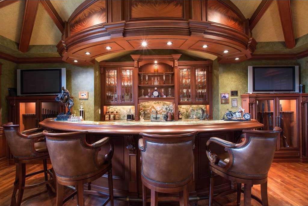 Merritt island ultra luxury estate brevard county florida for Entertainment bar for home